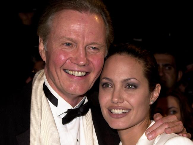 On the mend ... Voight and Jolie reconciled in 2010. He says he plans to visit his daughter soon.