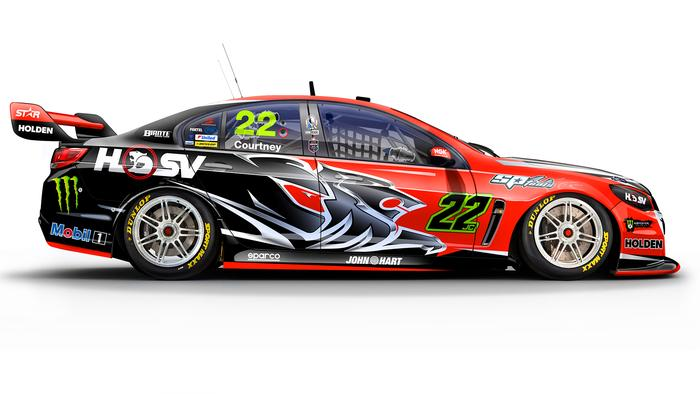 James Courtney's No. 22 Holden Racing Team Commodore.