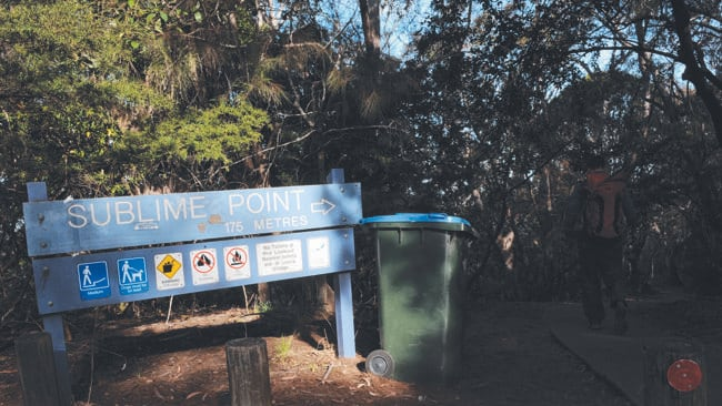 The body of Gary Tweedle was found near Sublime Point in the Blue Mountains.