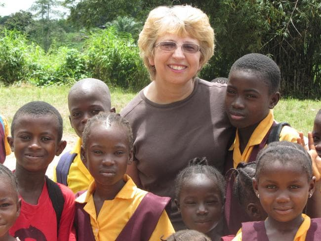 Ill ... missionary nurse Nancy Writebol has been infected with Ebola and is returning to the US. Picture: AP