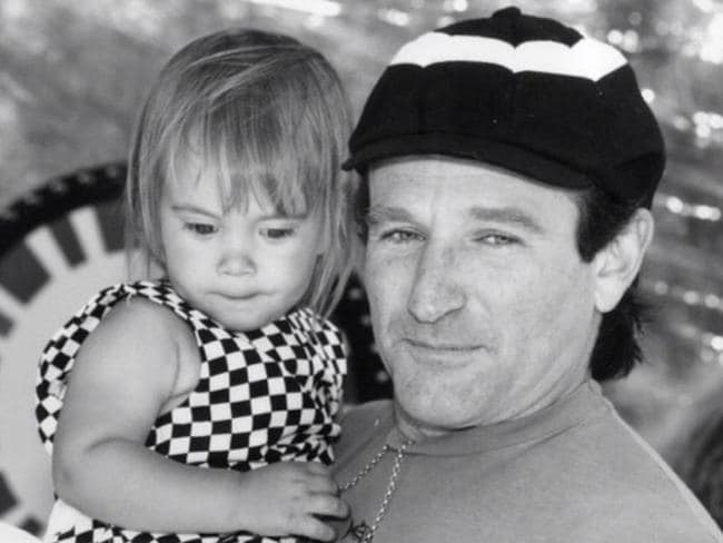 Williams' last Instagram post. Wishing his daughter, Zelda Rae, a happy birthday. Picture: Instagram