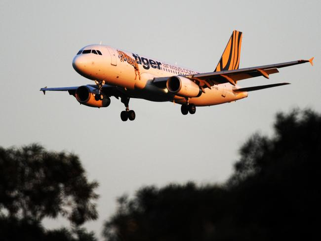 Tigerair was approaching too high and too fast according to air traffic control.