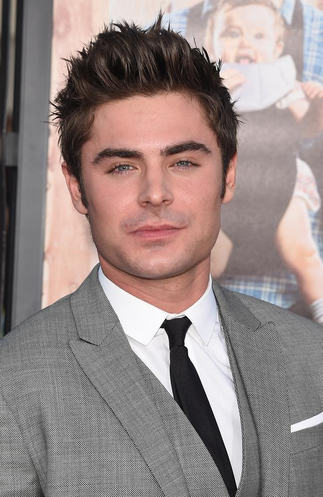 Single again ... Zac Efron at the premiere of 'Neighbors' at Regency Village Theatre on April 28 in Westwood, California.