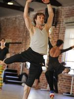 Dancers at the WA Ballet company show their extraordinary poise and strength in rehearsals. Picture: Stewart Allen.