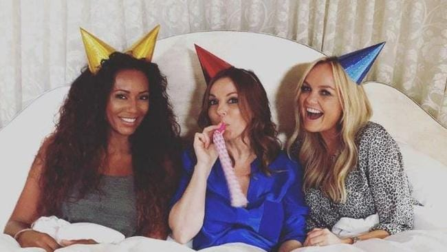 Mel B, Geri Horner and Emma Bunton have formed a group called Gem.