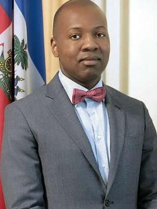 Paul Altidor, Haiti's ambassador to the United States. Picture: Supplied