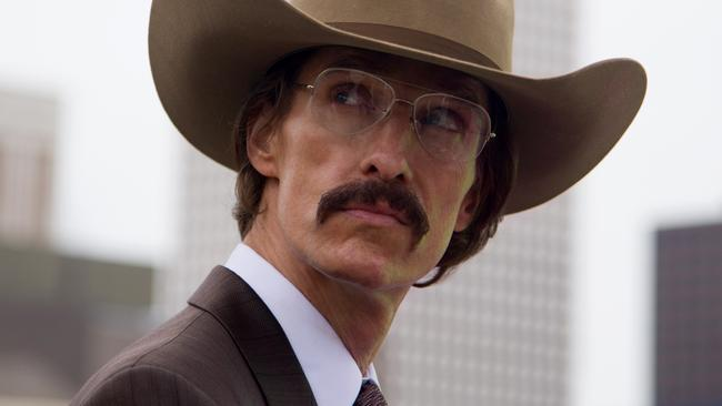 Honey, I shrunk the cowboy ... Matthew McConaughey in Dallas Buyers Club. Picture: Supplied