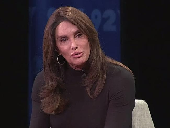 Caitlyn Jenner has been criticised for an off-colour joke about a US shooting. Picture: Facebook