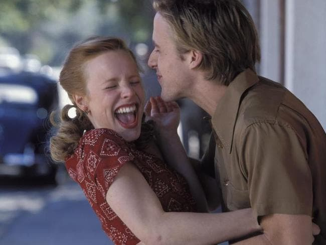 No chemistry: Ryan Gosling and Rachel McAdams did not get along in the film The Notebook.