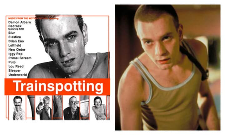 "TRAINSPOTTING: ""I dare you to sit still while blasting the soundtrack to Trainspotting! Every track makes you want to dance - Danny Boyle is a music maestro. From Iggy Popp to Blur, the Brits just know how to make music and this is one of my all time favs"" said Mel."