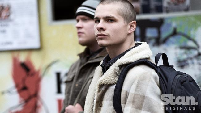 Skinheads for the new era Picture: Ben King