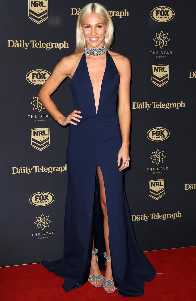 Allana Ferguson at the 2017 Dally M Awards held at The Star in Pyrmont. Picture: Christian Gilles