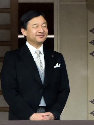 Crown Prince Naruhito during New Year greetings in Tokyo, Japan, 2015. He is next in line for the emperor's throne. Picture: AFP / Toshifumi Kitamura