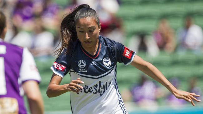 Gulcan Koca is in her ninth season of the W-League. Picture: AAP