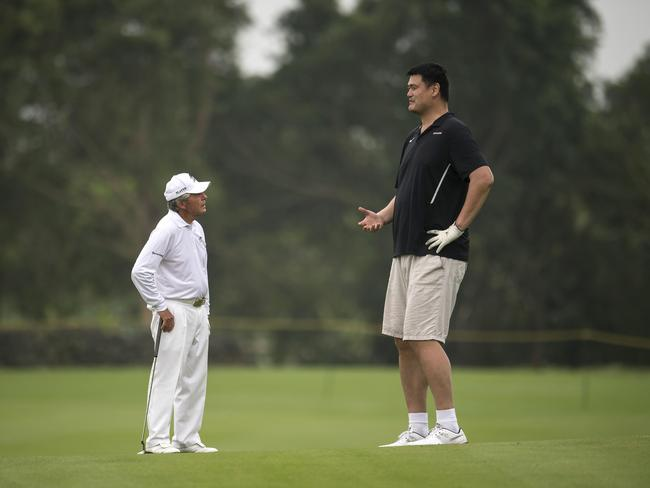 Yao Ming's making people look tiny again