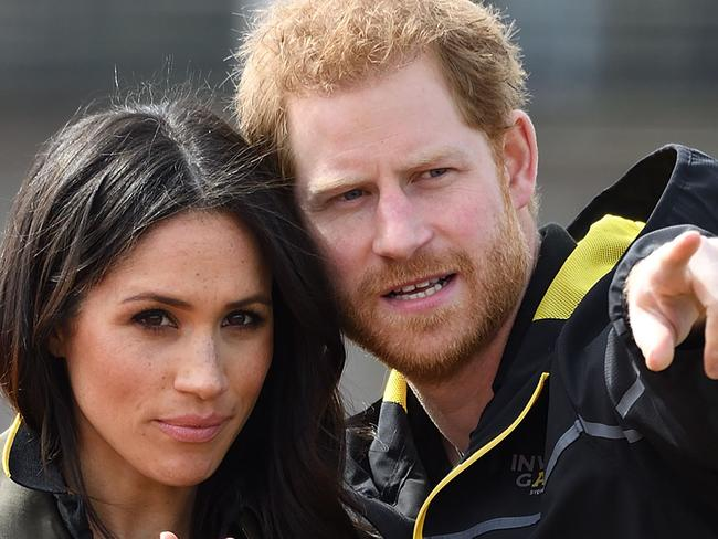Prince Harry and Meghan Markle will visit Sydney later this year for the Invictus games. Picture: GEORGES ROGERS/SIPA / MEGA