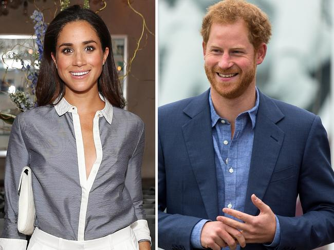 When Prince Harry made a statement confirming his relationship with Meghan Markle (who has a mixed-race background), he slammed the 'racial undertones' of attacks on the couple. Picture: Getty.