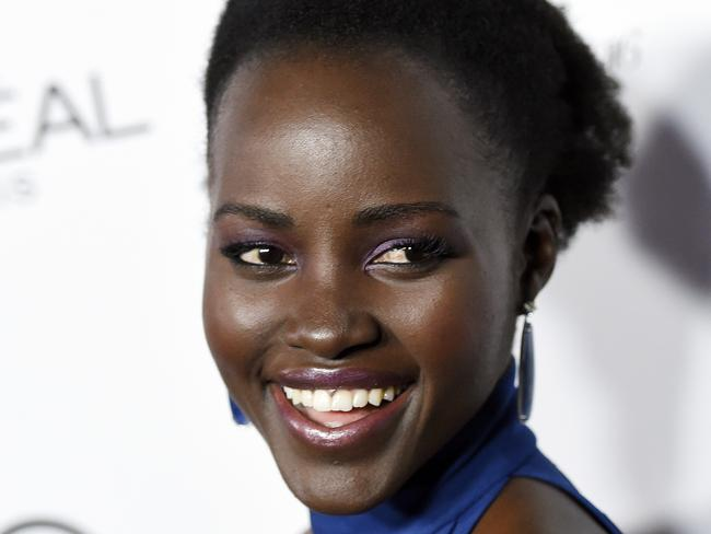 "Call for change ... Oscar-winning actor Lupita Nyong'o said on Instagram she was joining in ""calling for change in expanding the stories that are told."" Picture: Chris Pizzello/AP"