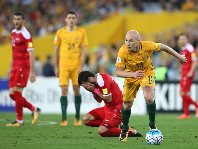 Mooy was the best player on the pitch - once Brad Smith's injury brought him off the bench.