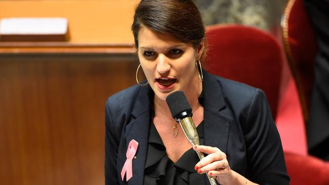 French Junior Minister for Gender Equality Marlene Schiappa is piloting the new legislation. Picture: Bertrand Guay/AFP