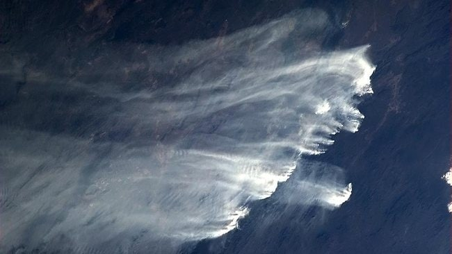 Bushfires from space