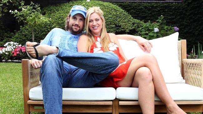 Mike Cannon-Brookes is married to wife Annie and has four children. Picture: James Croucher