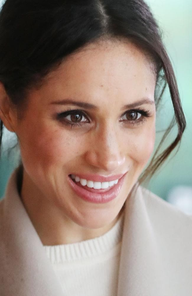 Meghan Markle was nicknamed 'flower' growing up. Picture: AFP/Pool/Niall Carson