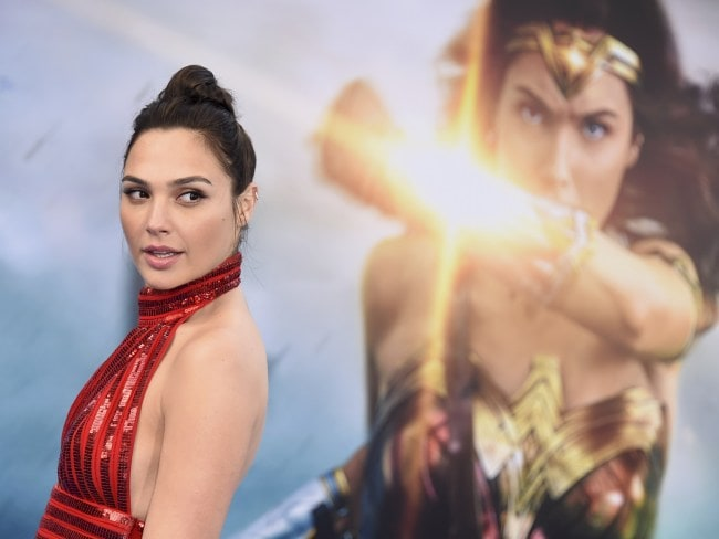 Gal Gadot arrives at the world premiere of Wonder Woman in Los Angeles. Photo: Jordan Strauss/Invision/AP
