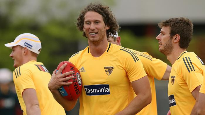 Hawthorn AFL training