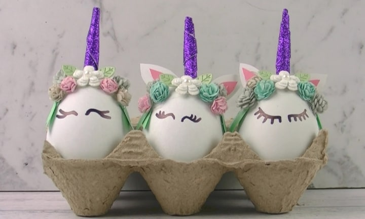 How to make unicorn eggs