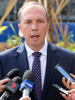 Seriously considering AMA proposal ... Health Minister Peter Dutton. Picture: Richard Gosling