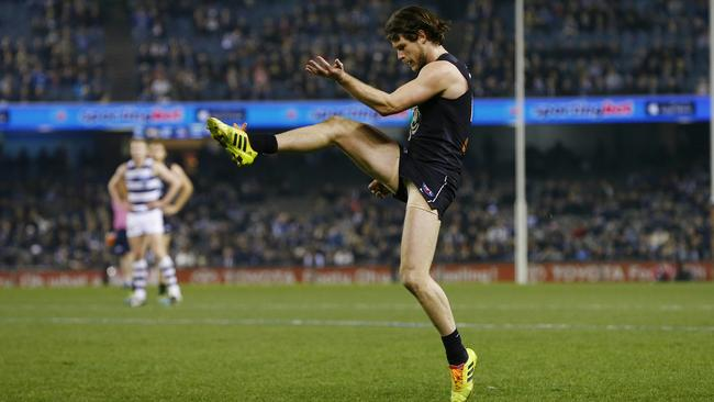 Carlton's Bryce Gibbs could be a worthwhile inclusion into your SuperCoach side, Picture: Michael Klein