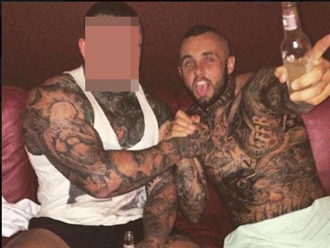 Police have powers other than the new failed bikie laws to control gangs like the Rebels whose sergeant at arms Michael 'Ruthless' Davey (above) was gunned down in 2016. Picture: Facebook.