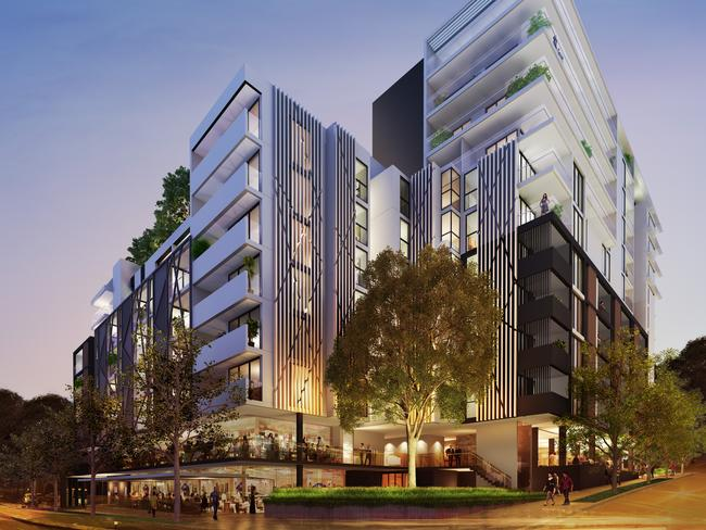 The Chastwood by Toga is an example of satellite CBD living within 25kms of Sydney. Although just released, it is now more than 85 per cent sold out.