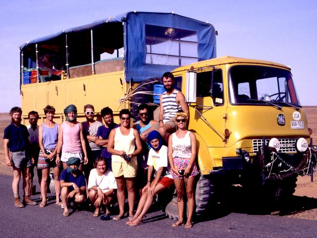 It all started with a trip around Africa in a converted council tip truck. Picture: Supplied