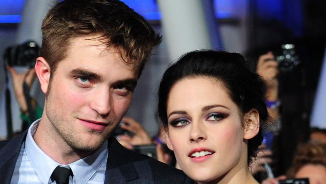 Pattinson and Stewart in 2011. AFP PHOTO / Frederic J. BROWN