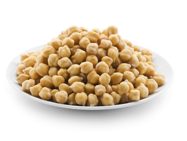 Chickpeas are a legume.