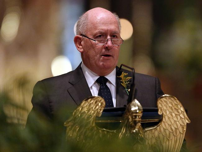 Australian Governor-General Sir Peter Cosgrove will announce the Australian Bravey Awards today. Pic: Getty.