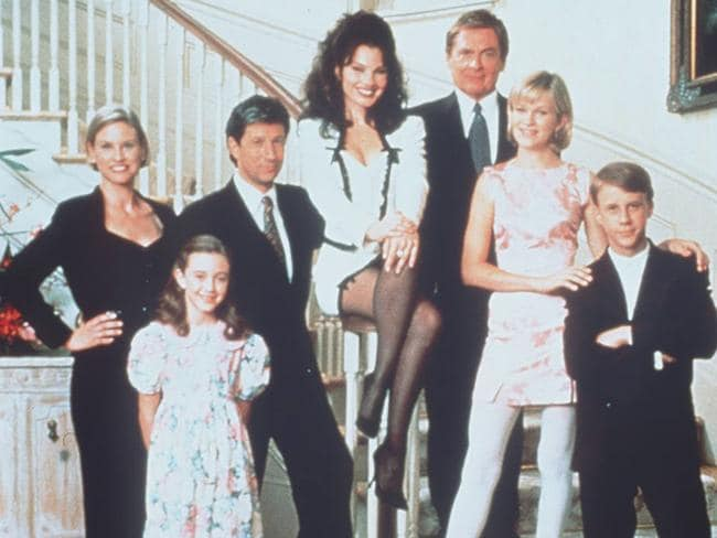 The cast of The Nanny.