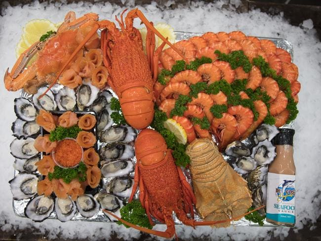 Besides beef and lamb, seafood is another popular choice. Picture: Supplied