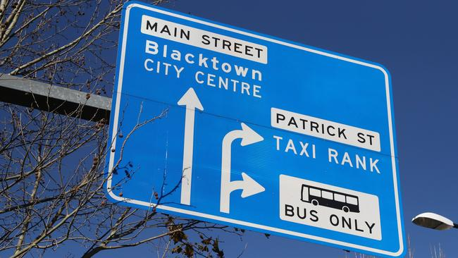 Blacktown, in Sydney's west, has prices close to the city's median. Picture: AAP Image/David Swift