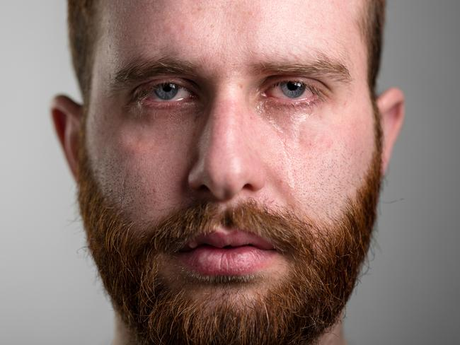 Why Men Find It Hard To Cry: Scientists Say There's A