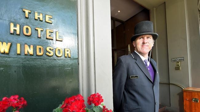 Will grand old hotels, such as Melbourne's Windsor, be under threat from Airbnb? Picture: Mike Keating.