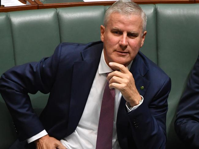 Minister for Veterans' Affairs Michael McCormack. Picture: Mick Tsikas/AAP