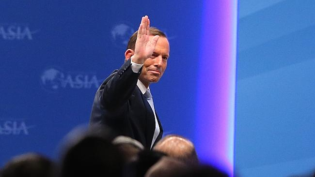 Big event ... Tony Abbott will travel to Shanghai to meet leaders before the first Austra