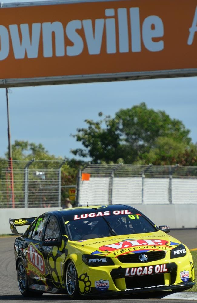 Van Gisbergen was quickest in the opening session.