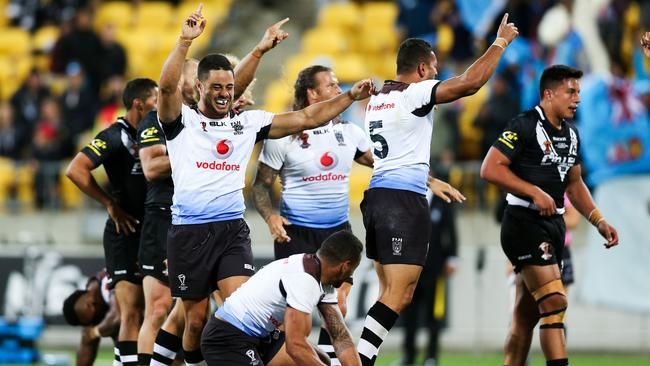 The final siren created history for Fiji.