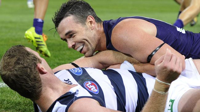 Ryan Crowley will renew acquaintances with Cats star Steve Johnson this weekend.