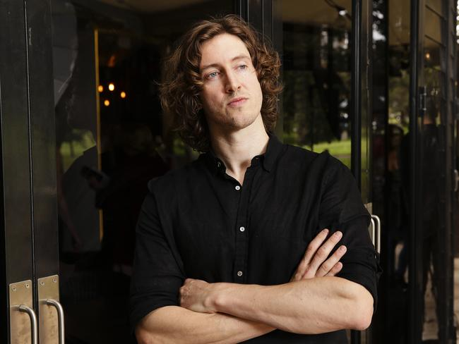 Newcomer Dean Lewis scored five ARIA Award nominations. Picture: Justin Lloyd.