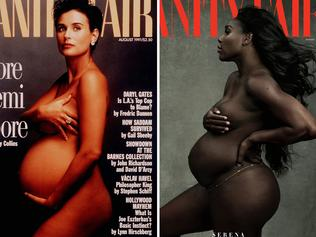 Demi Moore and Serena Williams. Picture: Supplied